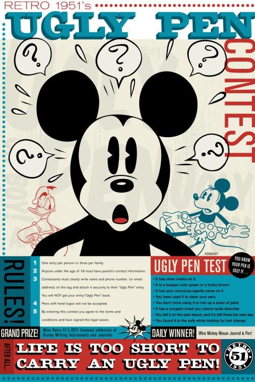 Retro 51 Ugly Pen Contest