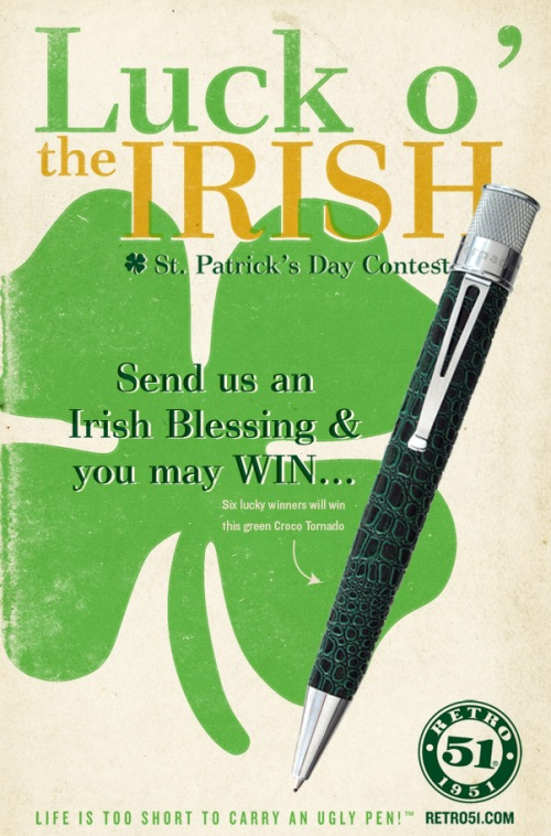 Retro 51 St. Patrick's Day Contest