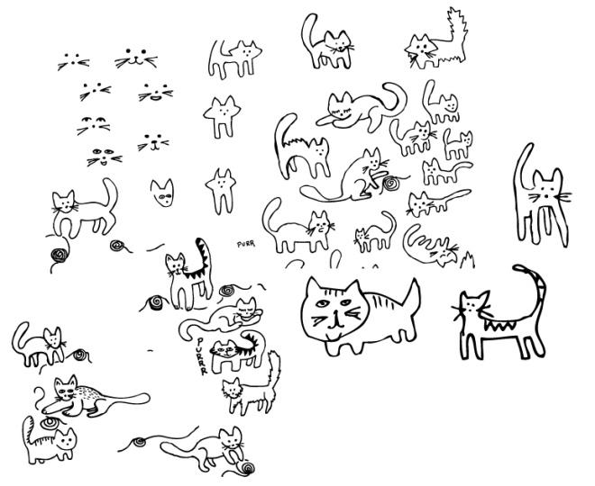 Cat_sketches